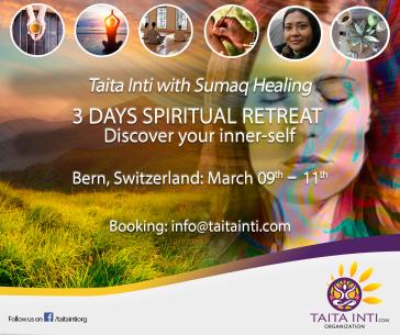Taita Inti March Switzerland 2018